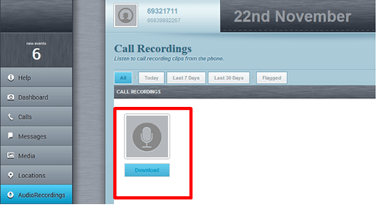 Call recording Flexispy